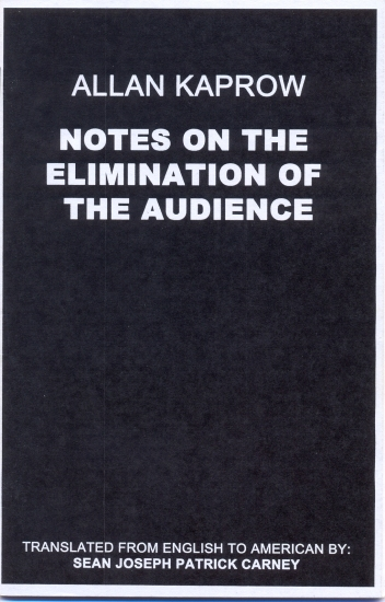 Notes on the elimination of audience